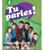 Tu Parles!2 Online Student License (1 Year)